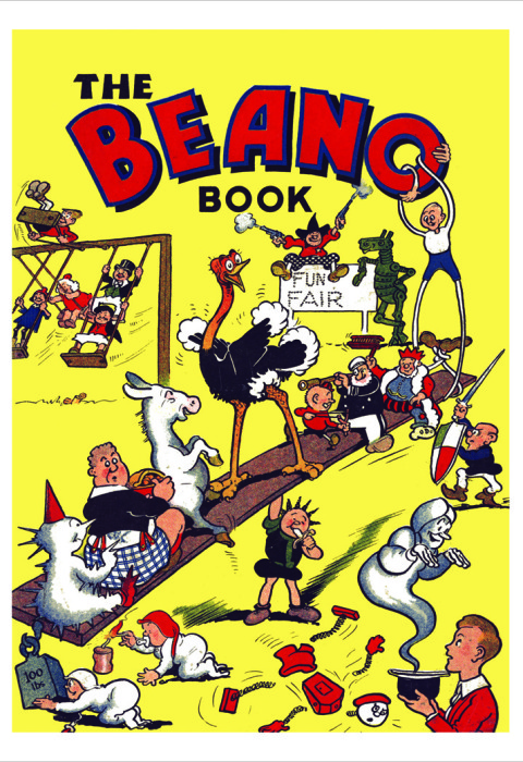 1940 The Beano Book Cover