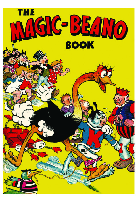 1943 The Beano Book Cover