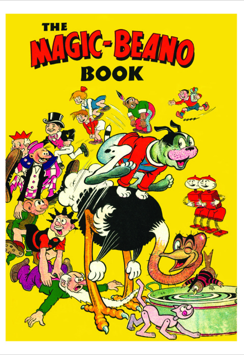 1945 The Beano Book Cover