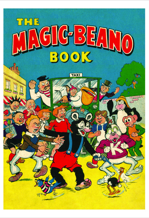 1949 The Beano Book Cover