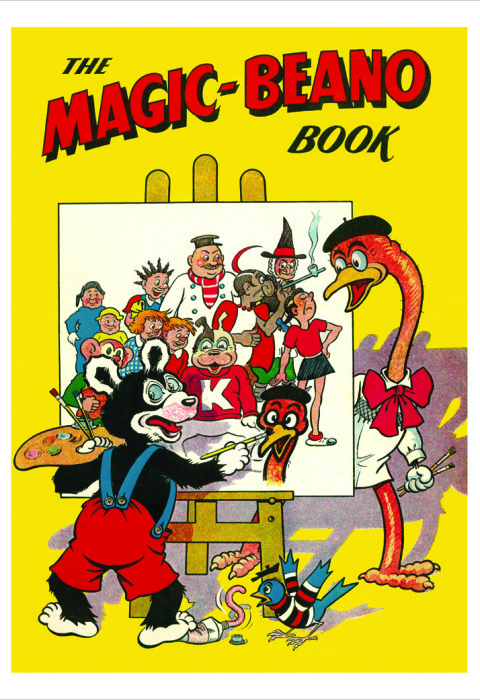 1950 The Beano Book Cover