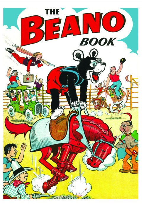 1951 The Beano Book Cover