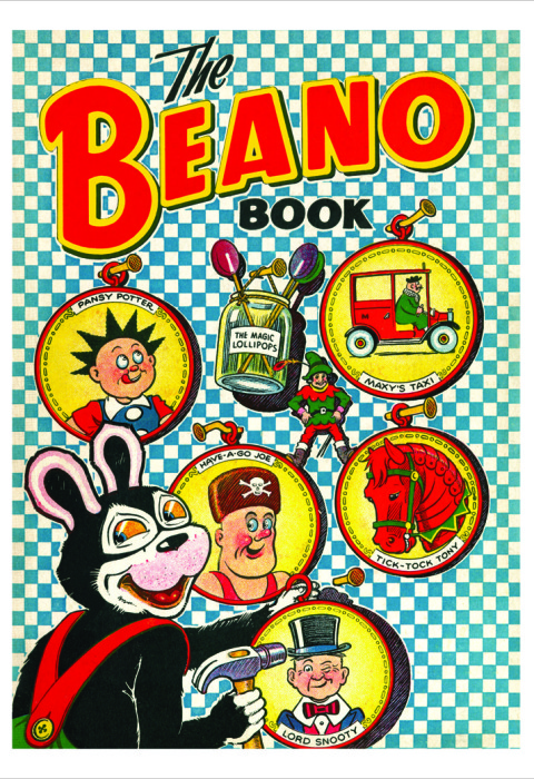 1952 The Beano Book Cover