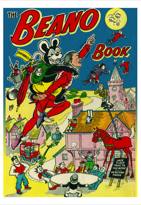 1953 The Beano Book Cover