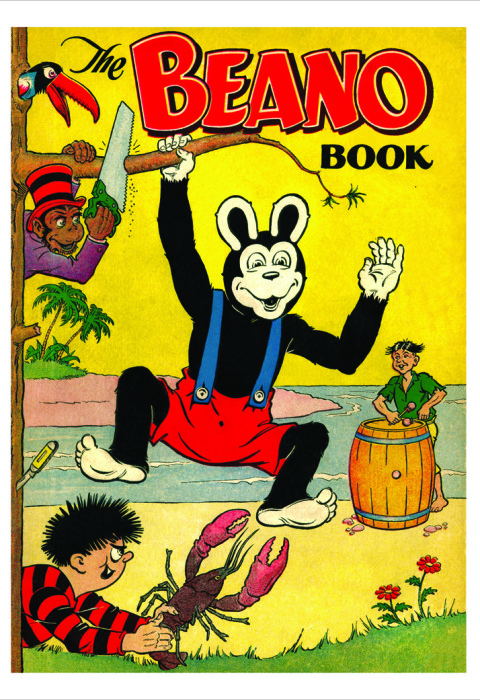 1954 The Beano Book Cover