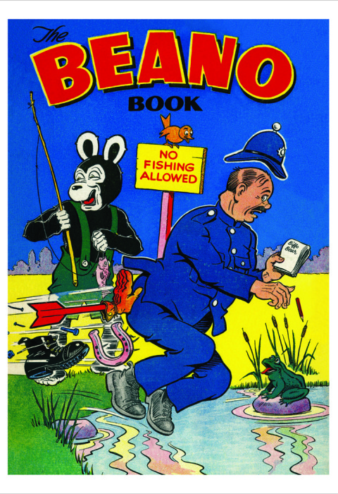 1955 The Beano Book Cover