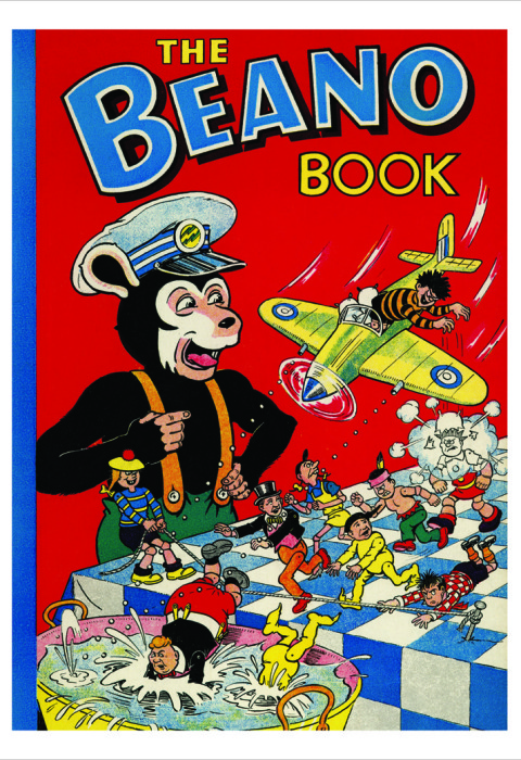 1956 The Beano Book Cover