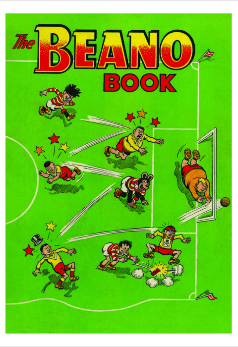 1957 The Beano Book Cover