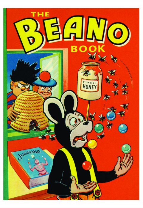 1958 The Beano Book Cover
