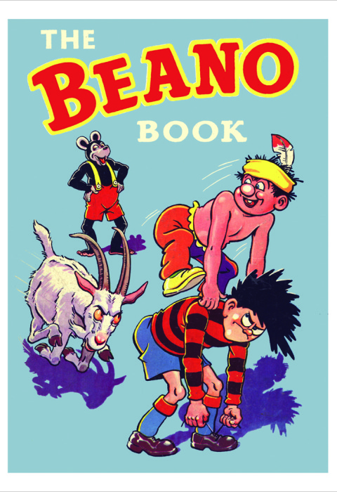 1959 The Beano Book Cover